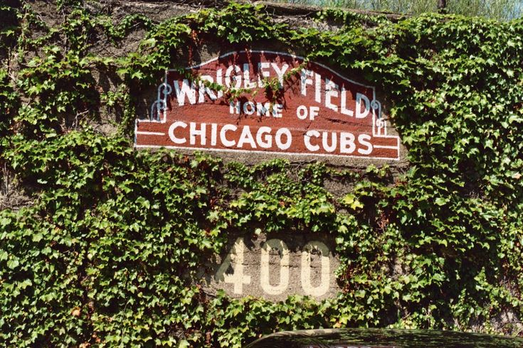 The friendly confines of Wrigley Field.  Bleachers, nuff said