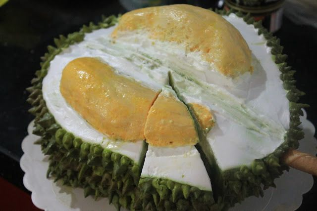 As The Deer : Durian Cake 榴莲造型蛋糕