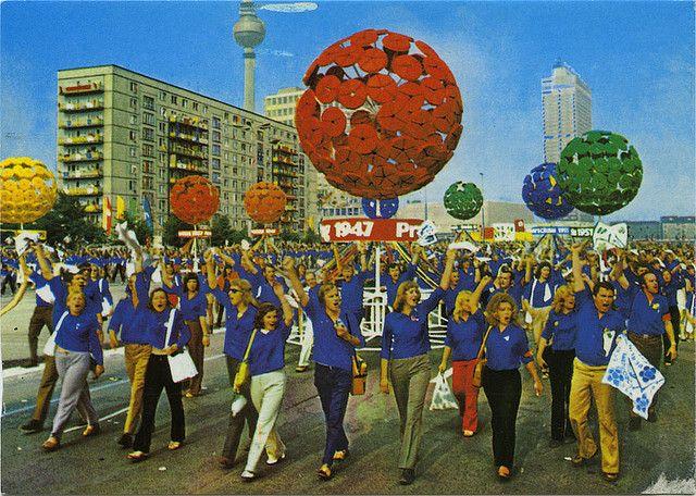 """Weltjugendfestspiele - #DDR 1973 ---- """"World Youth Festival"""" in 1973 - #GDR"""