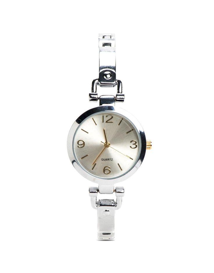 Round Chain Watch