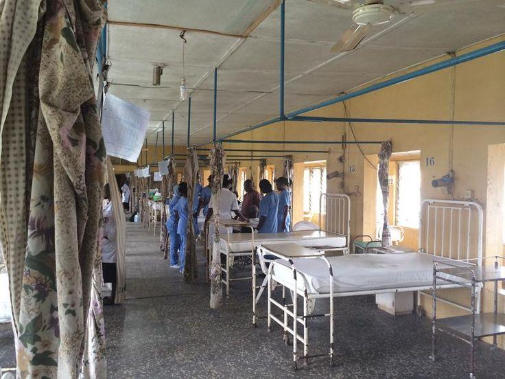 Obafemi Awolowo University Teaching Hospital ward, Ile Ife, Nigeria (1)