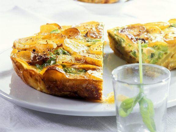 Kartoffeltortilla ist ein Rezept mit frischen Zutaten aus der Kategorie Kochen. Probieren Sie dieses und weitere Rezepte von EAT SMARTER!