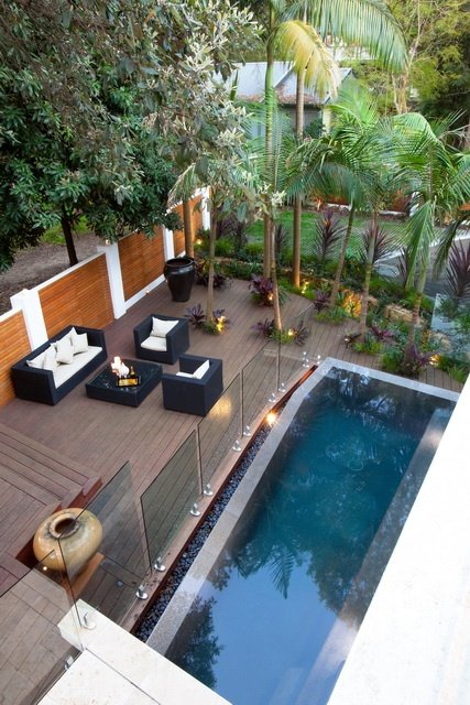 beautiful outdoor living gorgeous swimming pool seating area greenwich residence in australia by fluid design stunning home decor design