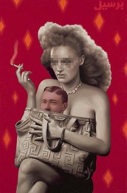 Pinturas de Aceite por Alex Gross    Alex Gross vive actualmente en los Angeles California, en 1990 se graduo con honores del Art Center College of Design en Pasadena. Desde entonces a participado en varias exposiciones alrededor del mundo su trabajo es impresionante.