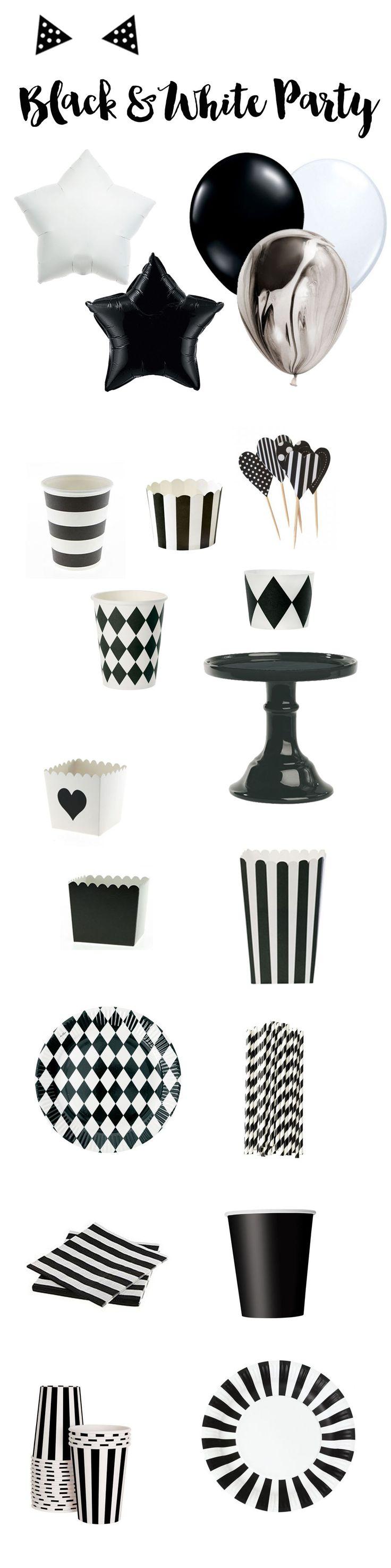Sélection d articles de fªte et vaisselle de table pour un fªte sur un th¨me