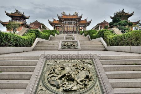 Download - Chinese traditional temple — Stock Image #3600721