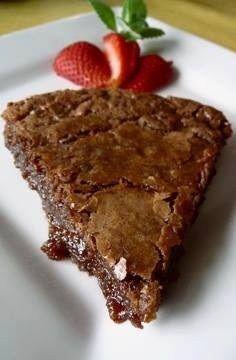 Hot Fudge Pie! 1 stick butter, softened 1 cup sugar 2 eggs 1 teaspoon vanilla 3 Tablespoons cocoa powder 1 teaspoon salt ½ cup all-pur…
