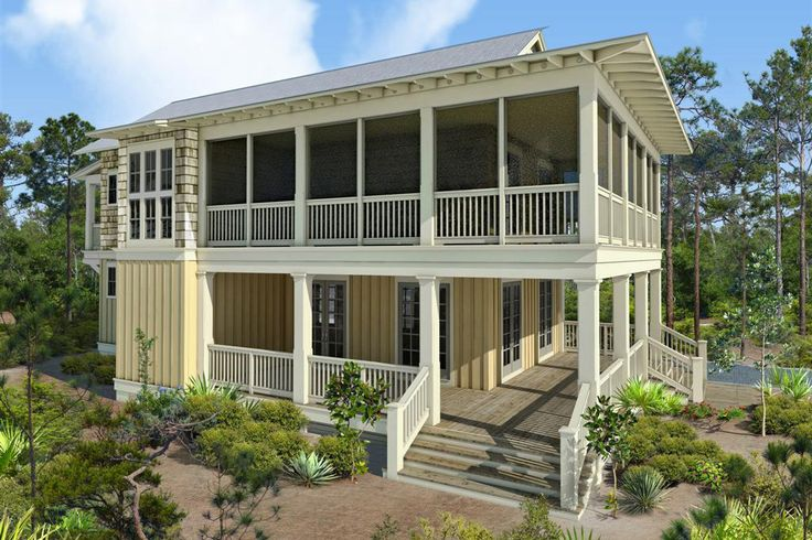 13 best images about gulf coast cottages on pinterest for Gulf coast cottage plans