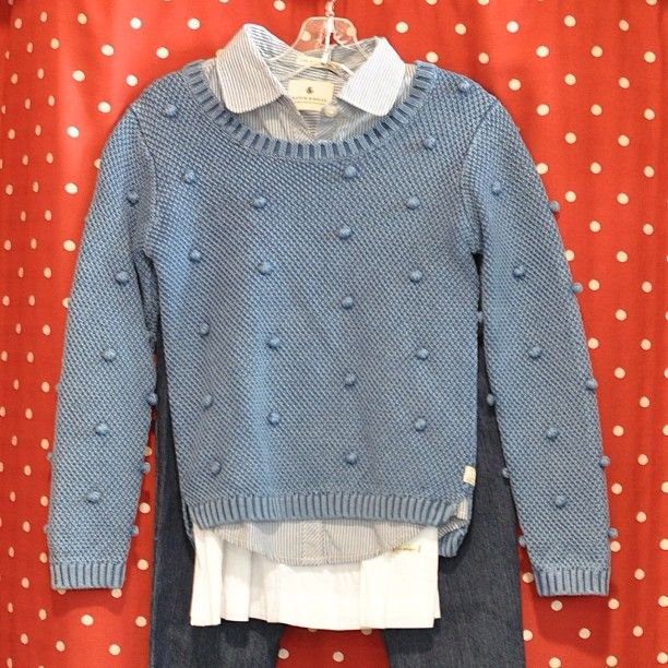 "When skies are grey, it's time to wear blue! We have plenty of pretty little things for your ""tween""! {The Children's Hour, 898 South 900 East, Salt Lake City, Utah. 801.359.4150}. #thechildrenshour"