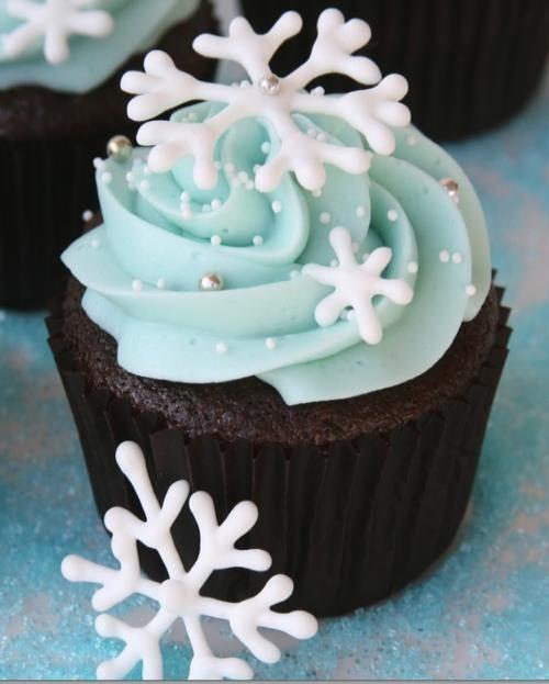 Frozen cupcake idea