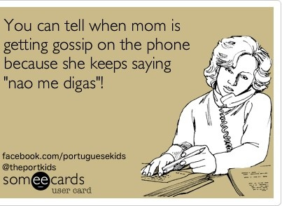 Ha! My mom in law says this all the time! Too funny