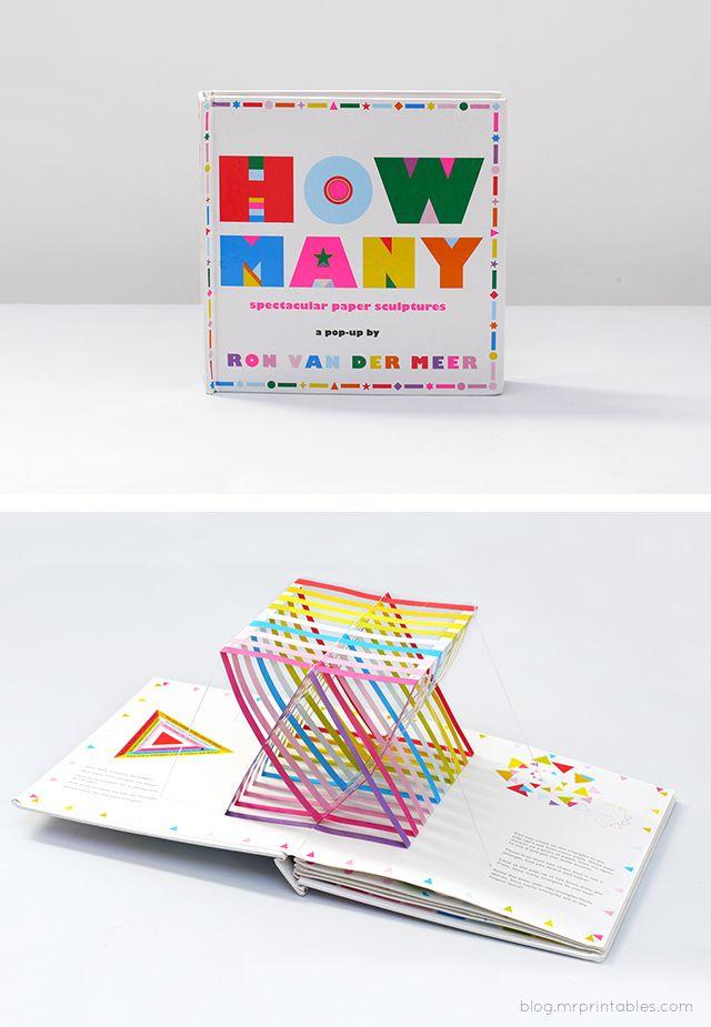 How Many? Pop-up book by Ron Van Der Meer