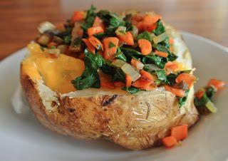 Modern Southern Cook: Veggie Stuffed Potato