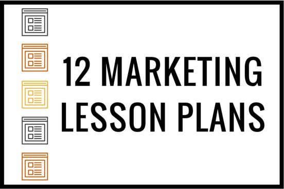 """If you're like most business educators, you've probably asked yourself or others """"Where can I find some good marketing lesson plans for high school students?""""We know you don't mean the same ones f…"""