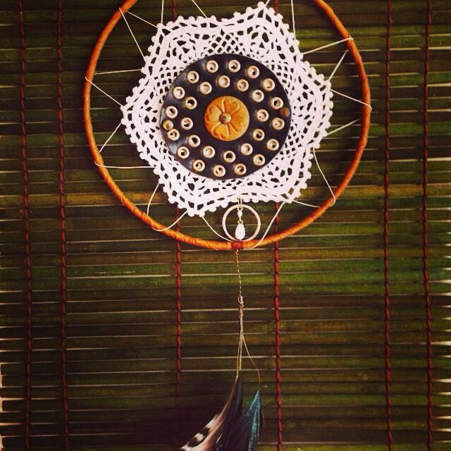 Leather and lace dreamcatcher......$20