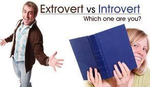 Extrovert Introvert Definitions