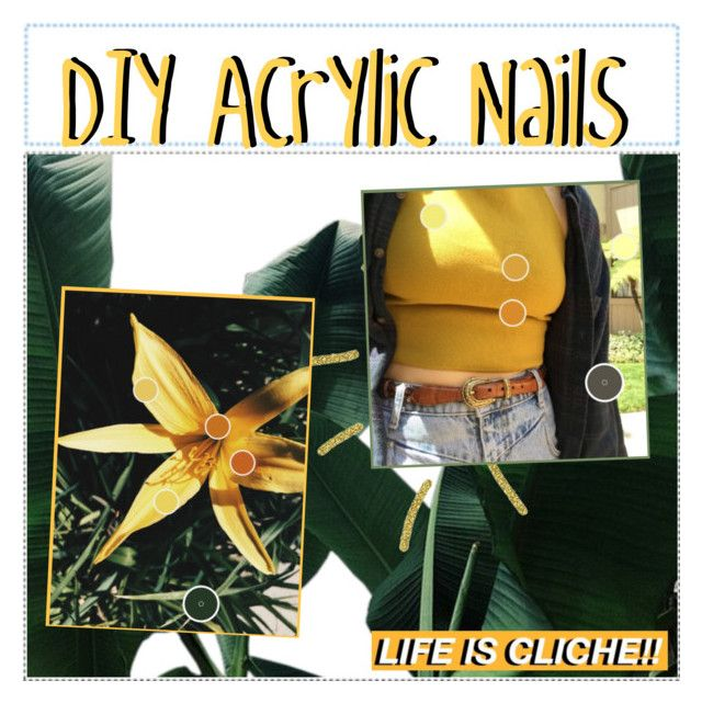 DIY Acrylic Nails by be-u-tip-ful-tipster on Polyvore featuring polyvore, beauty and beutipfuldiy