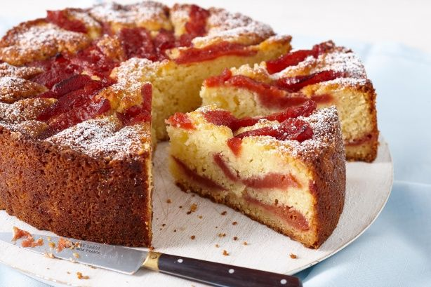 This moist quince cake is a perfect treat for a special morning tea.