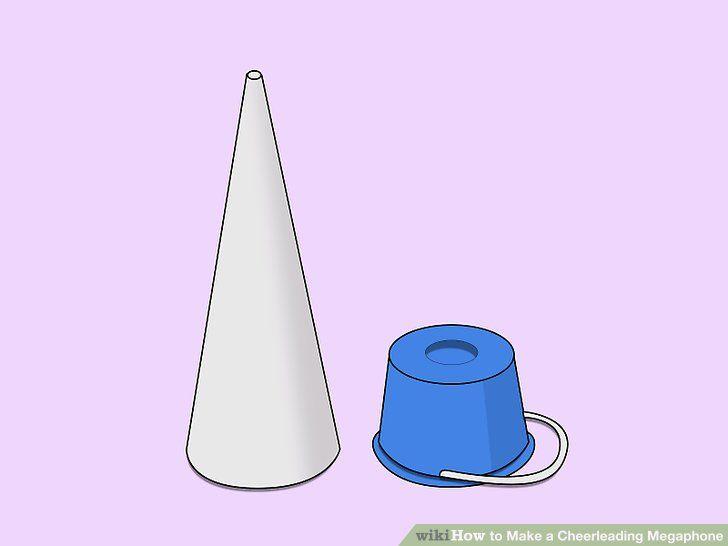 Image titled Make a Cheerleading Megaphone Step 1