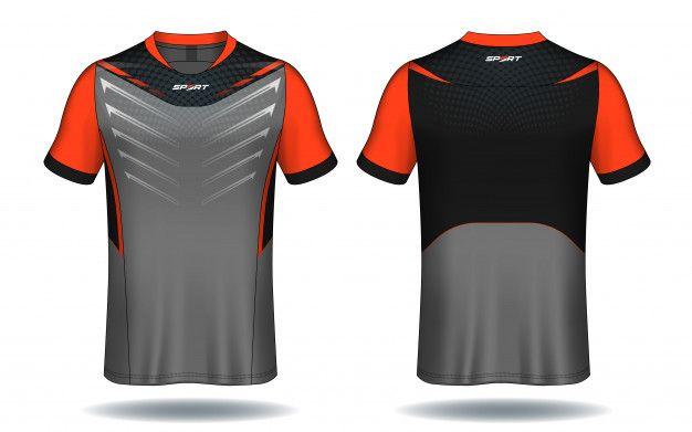 Soccer Jersey Sport T Shirt Design Premium Vector Premium Vector Freepik Vector Design Fa Sports Tshirt Designs Sport Shirt Design Sports Uniform Design