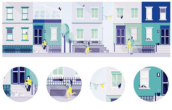 Salomé Gautier BLUE STREET on Behance