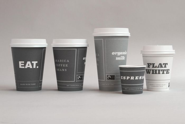 New Eat takeaway packaging created by The Plant.