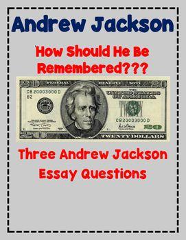 Essay on andrew jackson