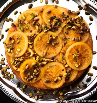 Olive Oil Cake with Candied Citrus