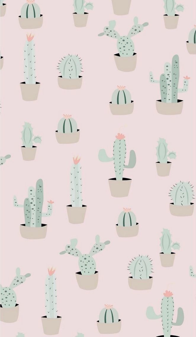 20 Cutest Wallpaper Cactus For Your Iphone Wallpaper Cute Wallpapers Wallpaper Wa Wallpaper Iphone Cute