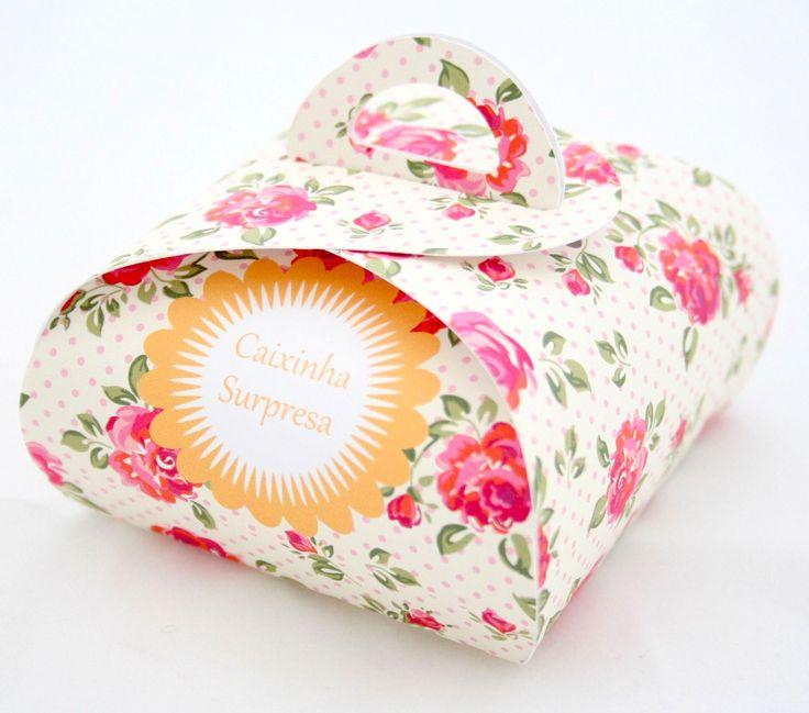 Caixinha de lembrancinha surpresa - Papermint Papelaria Fina Personalizada - Papermint | Papelaria Fina