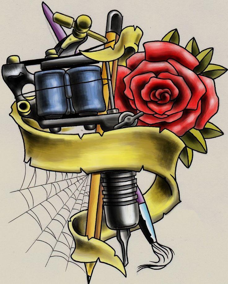 Открытка для татуировщика