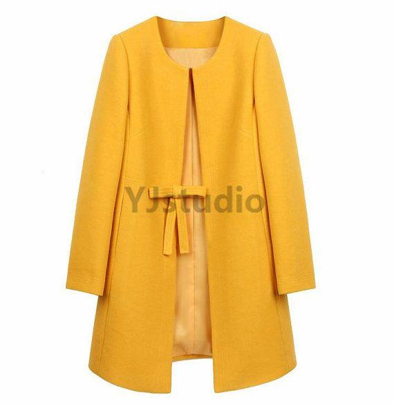 Long Women Woollen Overcoat, Brief, Slim, Make You An Outstanding Woman!
