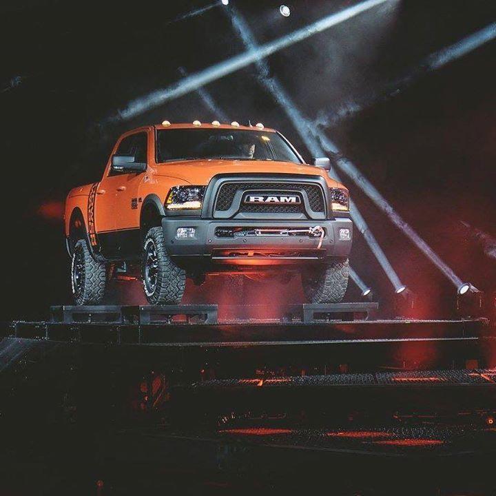 A first look at the 2017 Ram Power Wagon revealed at the 2016 Chicago Auto Show. #CAS16 #RamPowerWagon - photo from ramtrucks #FieldsCJDR #Florida #Chrysler #Jeep #Dodge #Ram #Sanford #FieldsCJD