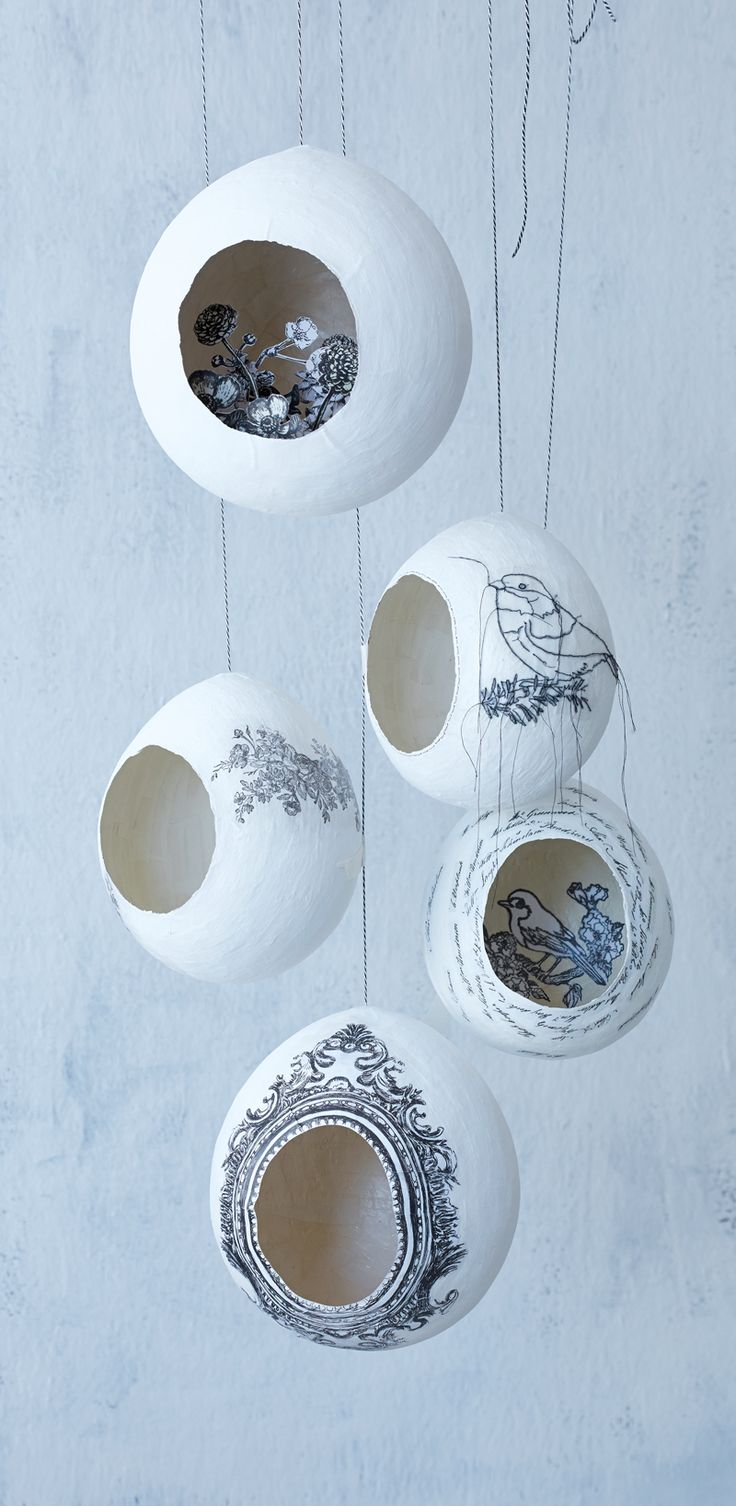 Paper décor | Amazing Nest using paper and Glue