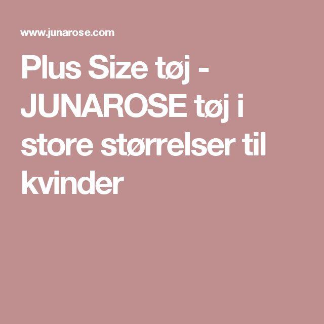 Plus Size tøj - JUNAROSE tøj i store størrelser til kvinder