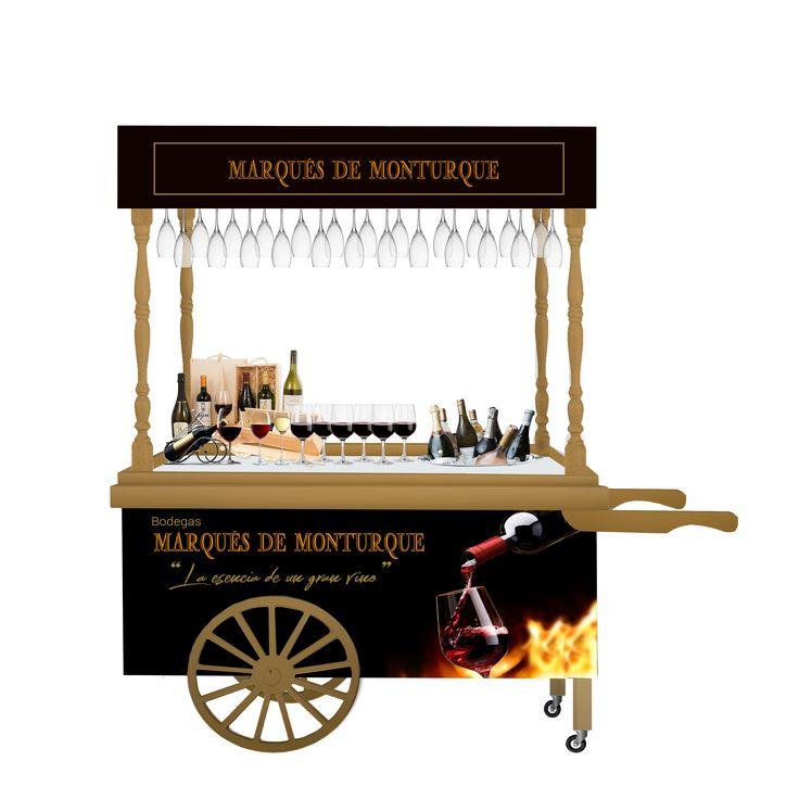 Mejores 7 im genes de carritos para bebidas en pinterest bebida bodas y carritos - Carrito bebidas ...