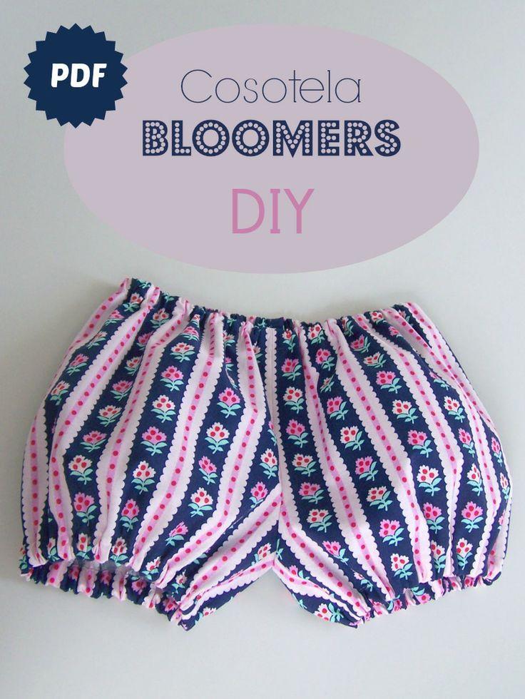 Pantalones bombachos, Cosotela Bloomers DIY