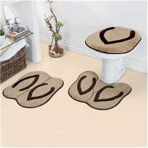 Jogo de Tapetes de Banheiro Chinelo Duda tapetes - Castor - Banheiro no Pontofrio.com