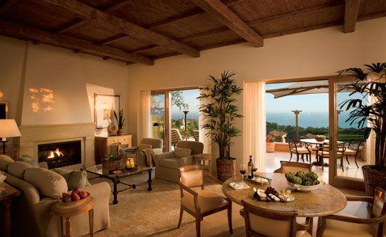 Resort at Pelican Hill Villa Living Room