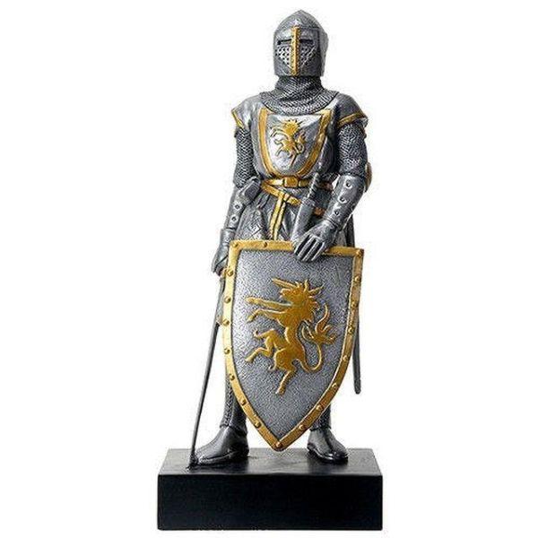 限定■フランス軍の騎士 アーマー 剣 盾 置物■フィギュア_画像1