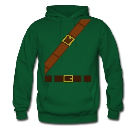 Link / Legend of Zelda hoodie http://muchneededmerch.storenvy.com/products/150329-link-costume-mens-sweatshirt-hoodie-s-xxl