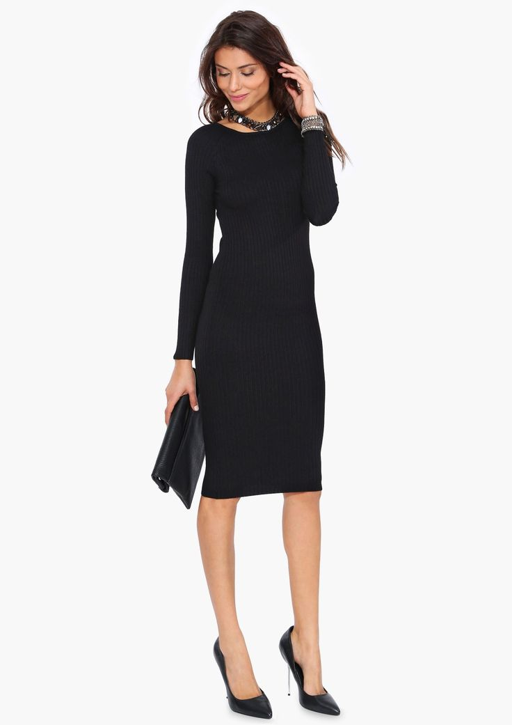 Walking Through The Front Door Seeing Your Black Dress Part - 33: Chic + Classic Sweater Dress U2014 Perfect For Fall!