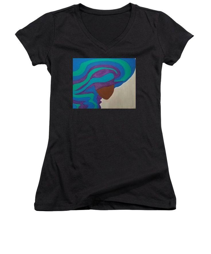 Mane Attraction - Women's V-Neck T-Shirt (Junior Cut)