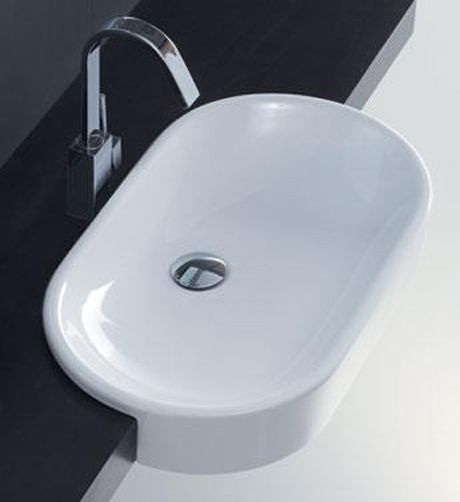 Designo Ovo Semi Recessed Basin | Sydney Tap and Bathroomware