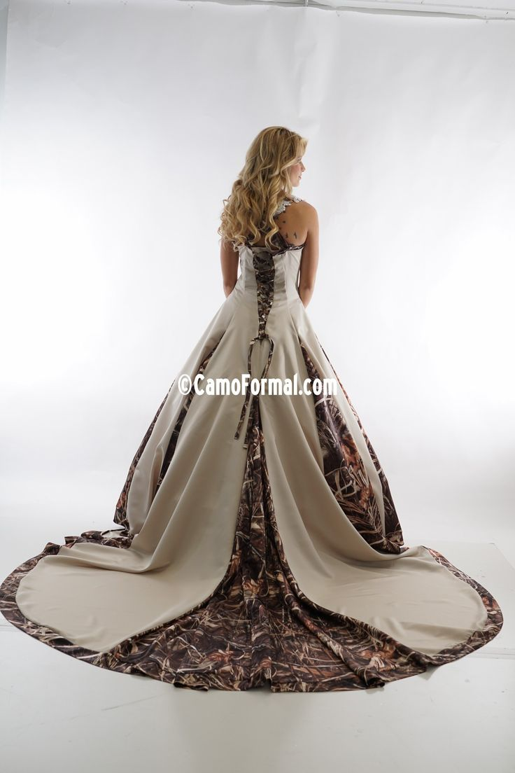 realtree wedding invitations%0A Camo Bridal and Wedding Dresses Camouflage Prom Wedding Homecoming Formals