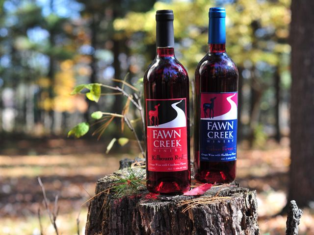 Take a short 20 minute drive from our Christmas Mountain Village and enjoy a relaxing afternoon or evening with the folks at the beautiful Fawn Creek Winery.  The knowledgable and engaging staff will offer complimentary samples of each of their wines and live music will keep you entertained. If you want to try something a little different, ask for a spiked slushy, which is their wine turned into a refreshing cold beverage. - Christmas Mountain Village, Ascend Hotel Collection® #GoNative