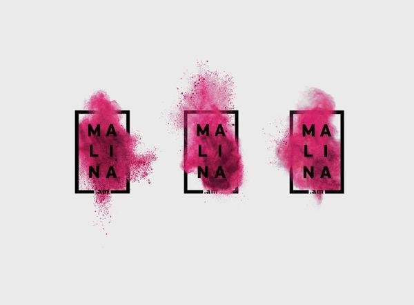 8_malina-splat-puff-design-Rasphberry Boom on Behance corporate identity design