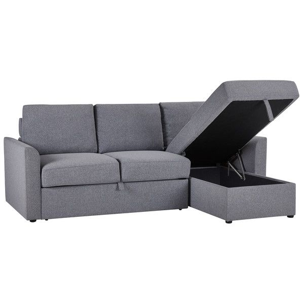 Ash Fabric Sofas Chaise Sofa Bed Dream Sofas Range Oak Furnitureland In 2020 Chaise Sofa Sofa Bed Fabric Sofa