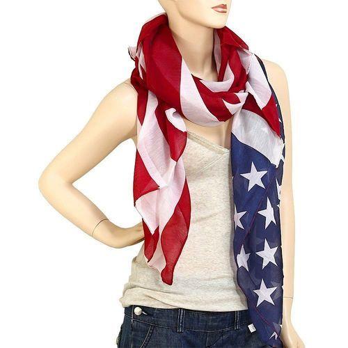 American Flag Scarf Pashmina . Starting at $10
