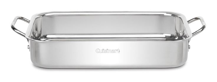 Right now you can get this handy Cuisinart Chef's Classic Stainless 13-1/2-Inch Lasagna Pan for only $25.49 (Reg. $80)!   Click the link below to get all of the details  ► http://www.thecouponingcouple.com/cuisinart-chefs-classic-stainless-13-12-inch-lasagna-pan-only-25-49-reg-80/